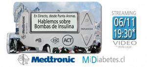 Hablemos sobre Bombas de Insulina desde Punta Arenas.