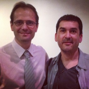 Con el Dr. Adrián Proietti.