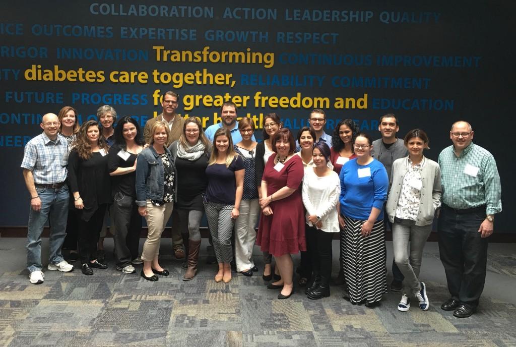 El grupo de blogueros invitados, con representantes de USA, Canadá y Latinoamérica.