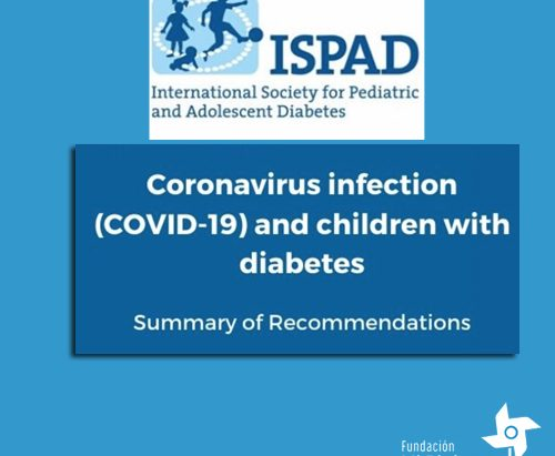 Recomendación ISPAD COVID19
